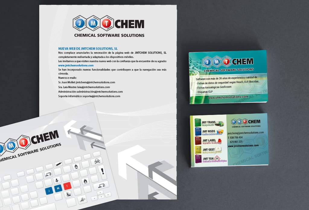 Imatge Corporativa JMTChem Chemical software solutions