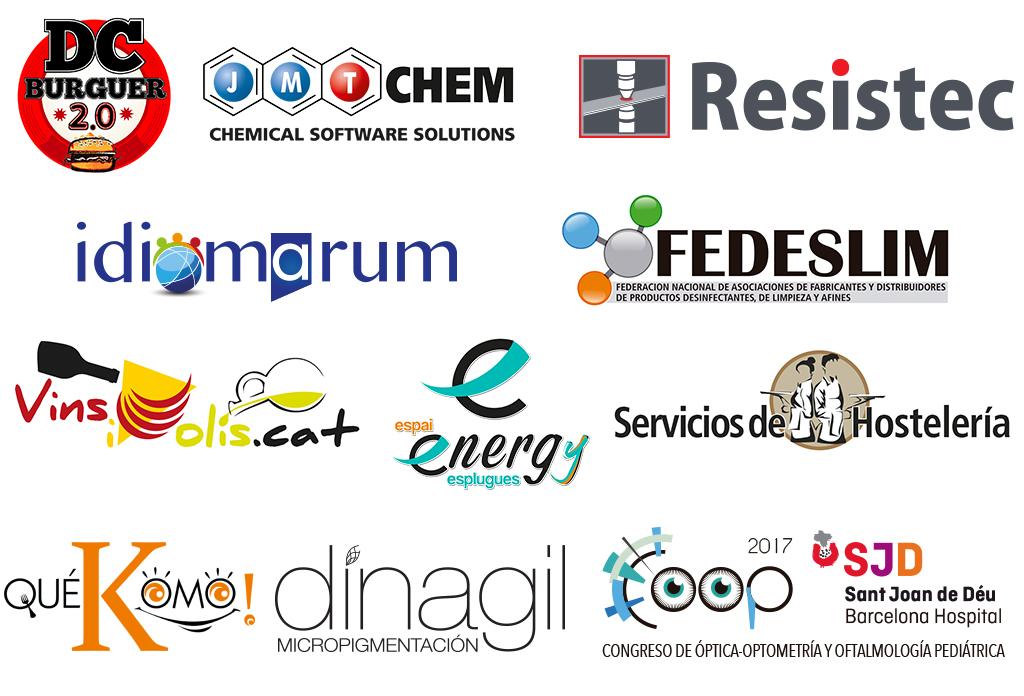 Logotips creats i dissenyats per a pymes i petit comerç