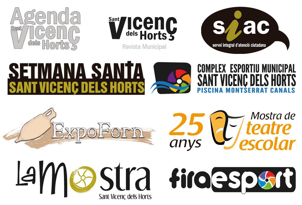 Logotips creats per a l'Administració Pública
